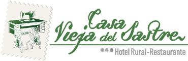 Logotipo Hotel rural restaurante Casa vieja del sastre