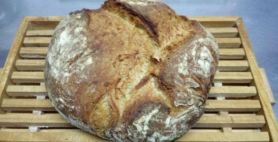 Pan de escanda casero