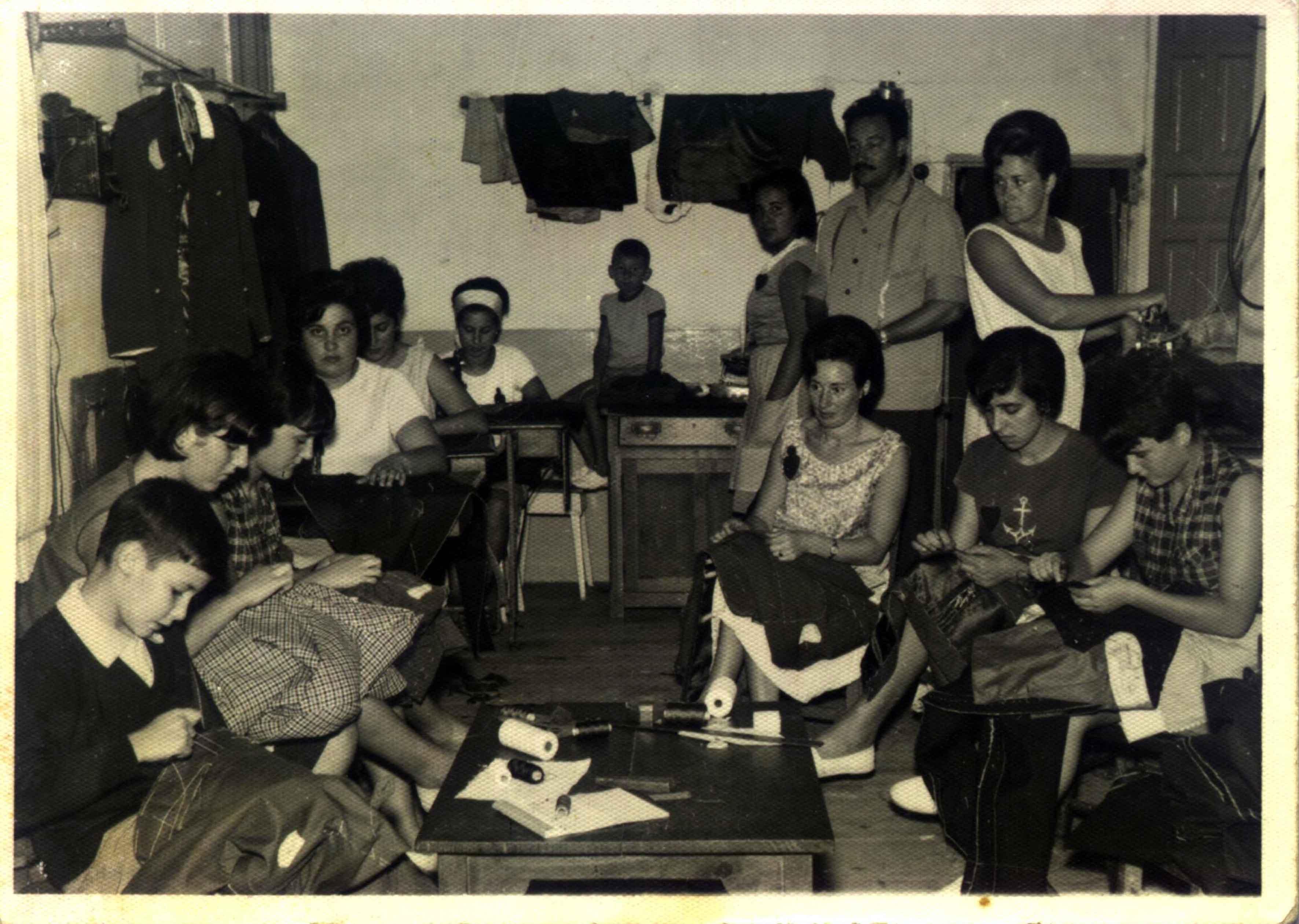sastreria años 60