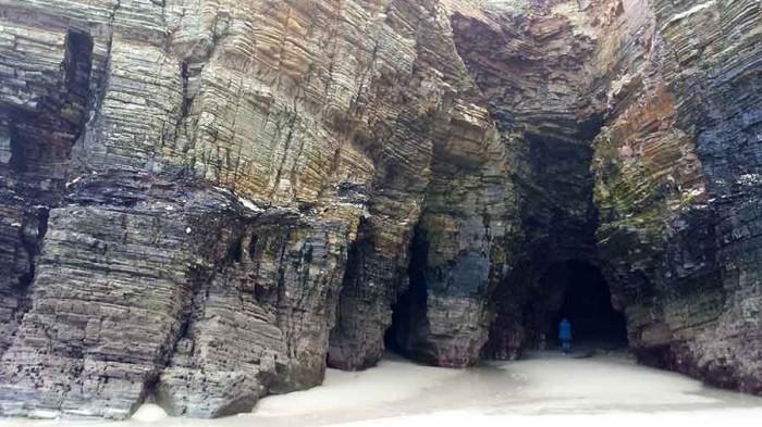 cuevas playa Catedrales
