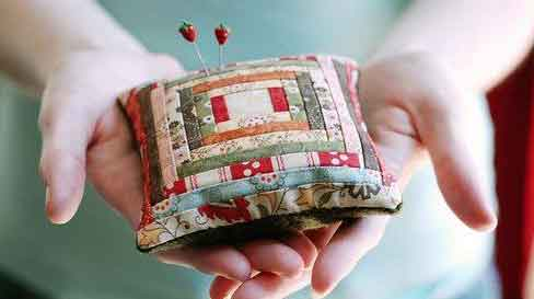 log cabin patchwork
