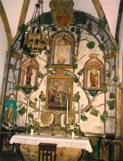 retablo santa ines soto luiña