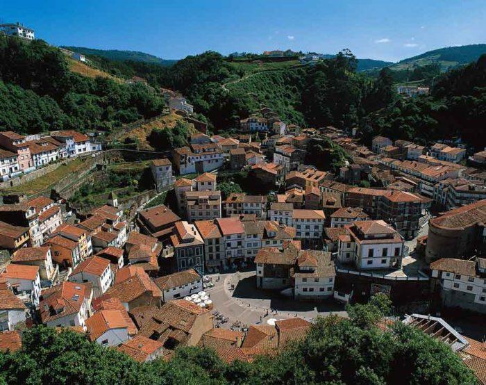 Cudillero Town