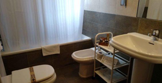 baño superior