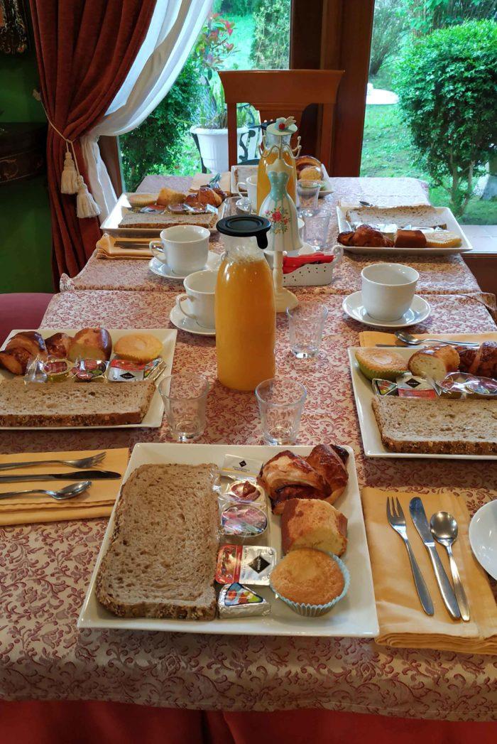 Desayuno peregrinos continental