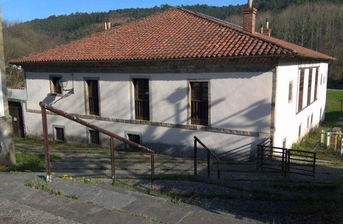 Fachada de la Casa Rectoral