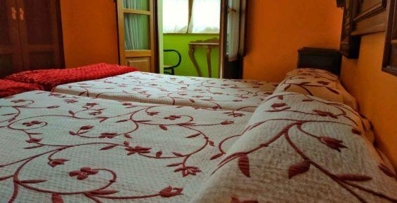 habitacion galeria 2 camas