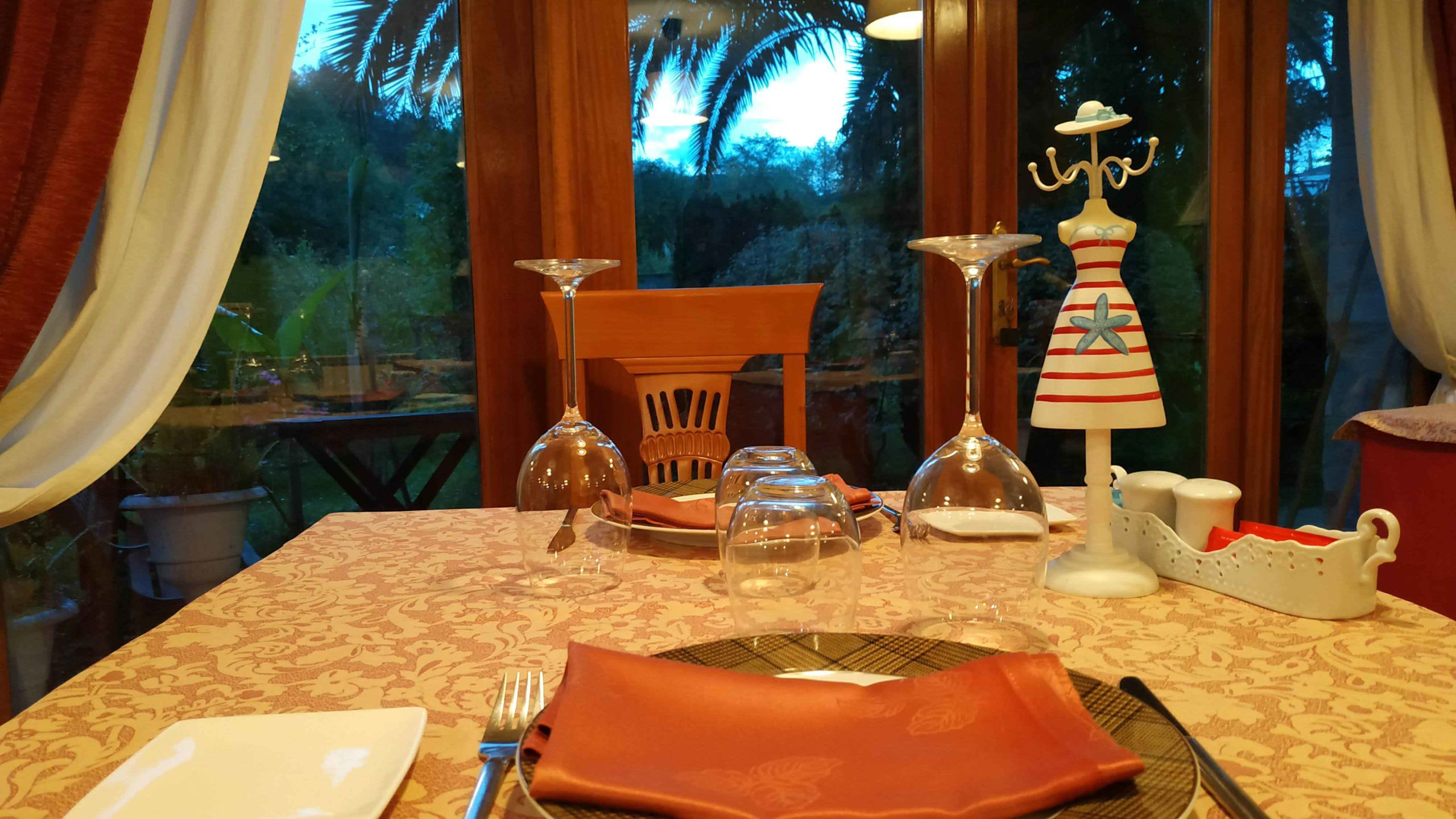 mesa comedor jardin