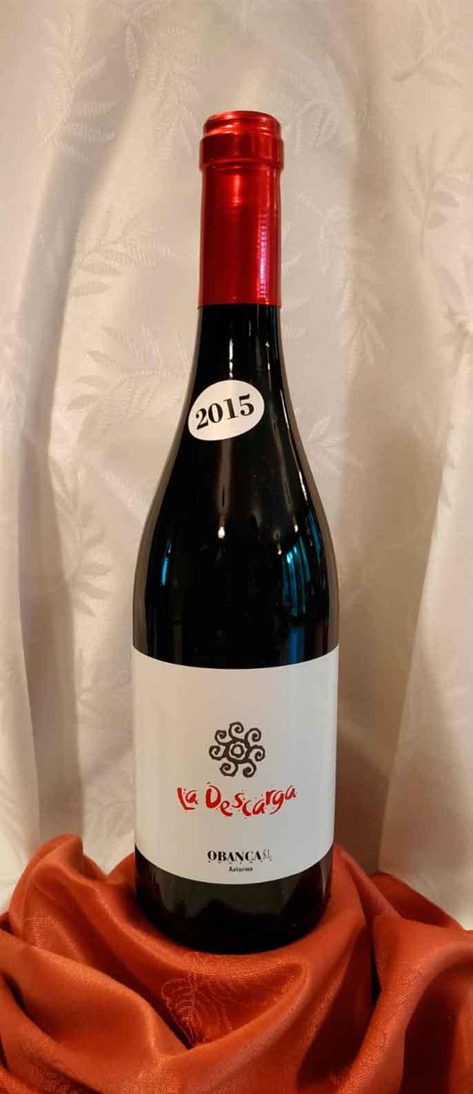 Descarga Tinto - Vino de Asturias