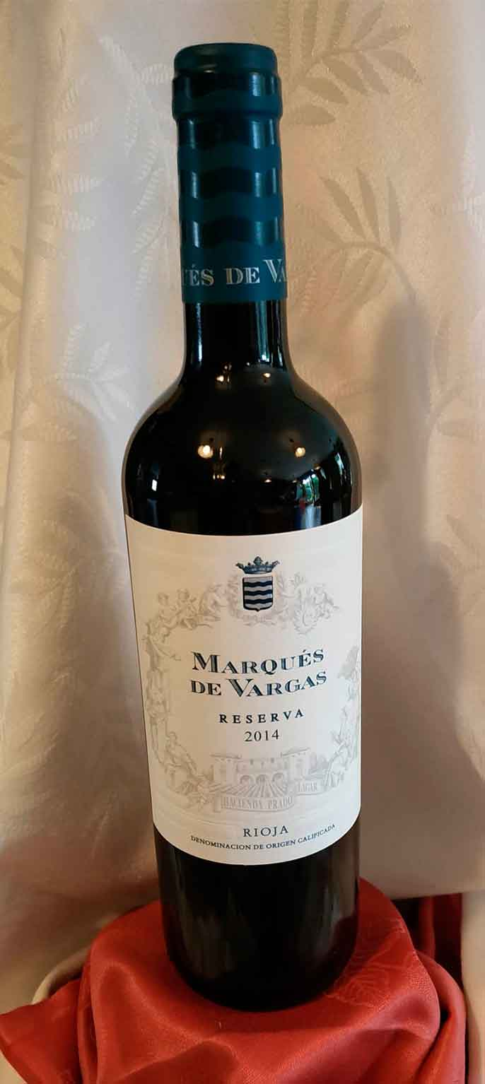 Marqués de Vargas Rioja Reserva